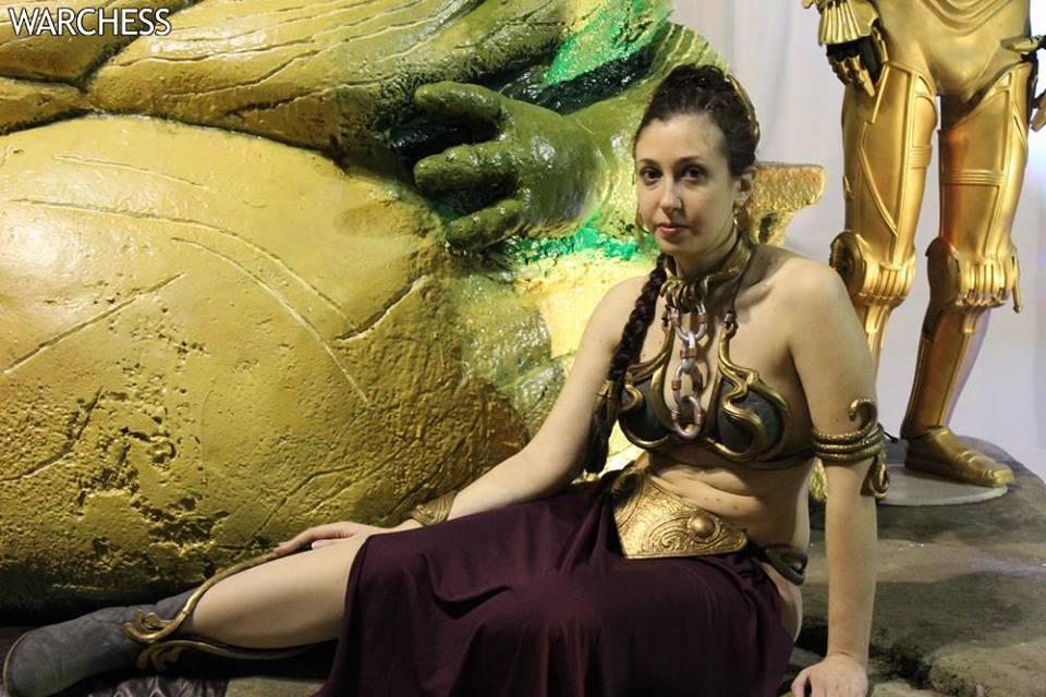 Jabba Leia Girls MetalBikini Favourites By Alexlandia12 On