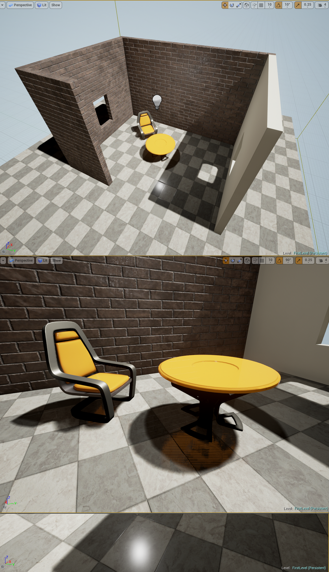 Unreal Engine 4 workflow by Huprus