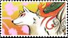 Okami Amaterasu Stamp by DuskyDeer