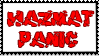 Stamp RQ - Hazmat Panic by DuskyDeer