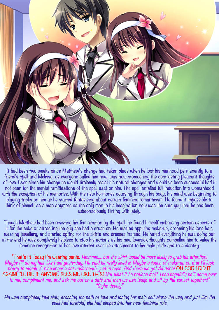 TG Caption: Sisterly Love by TG-Cradle on DeviantArt
