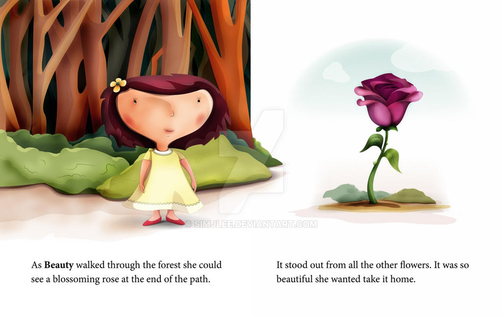 children's book illustration page example by simjlee on deviantart