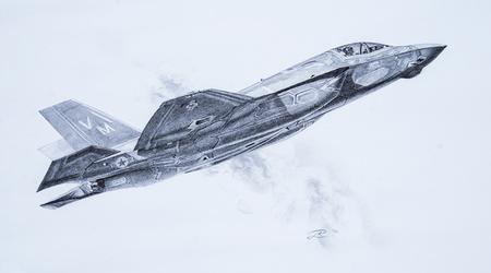 F35 Lightning II by LouieRoybal