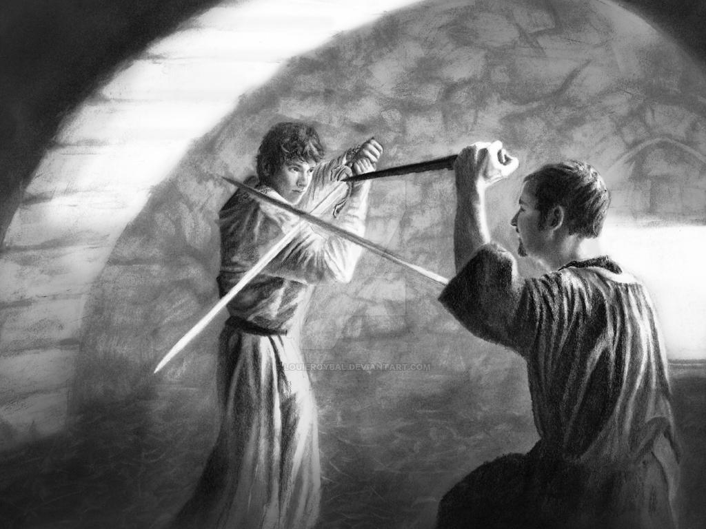 Swordfight by LouieRoybal