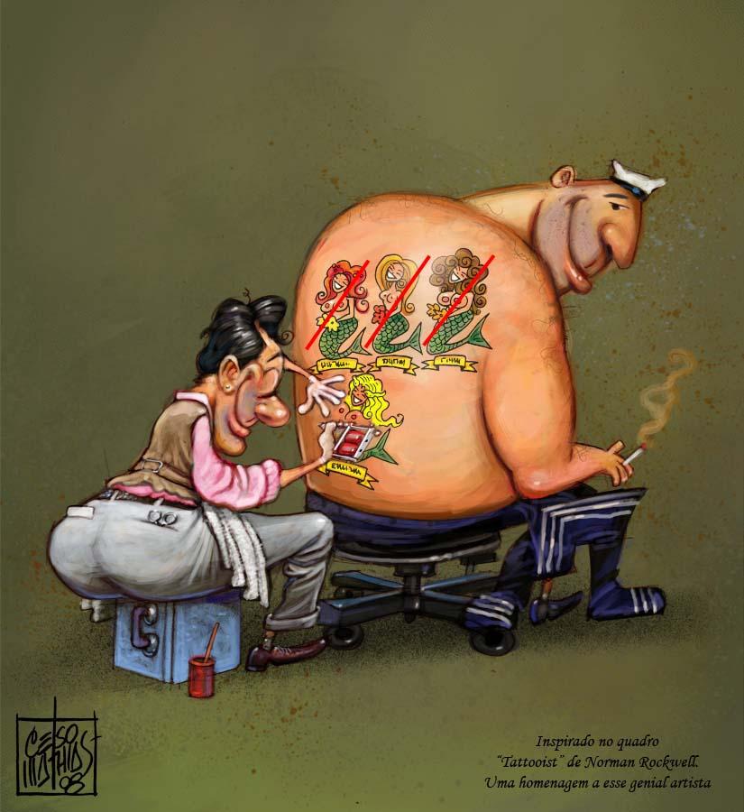 Надписью, картинки про татуировки смешные