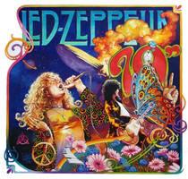 Led Zeppelin - Flower by oazen2008