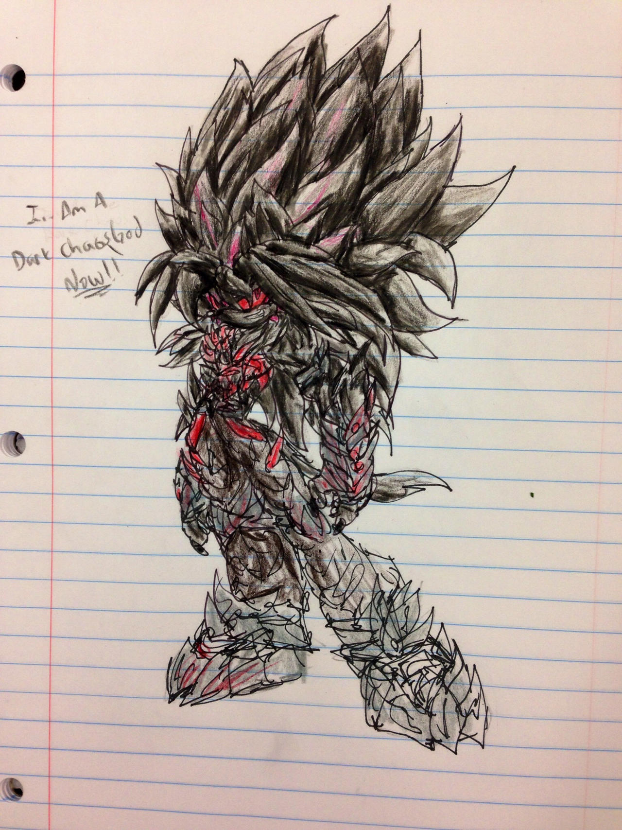 Griex Dark Chaos God Form sketch WIP by FreedomReigns97 on DeviantArt