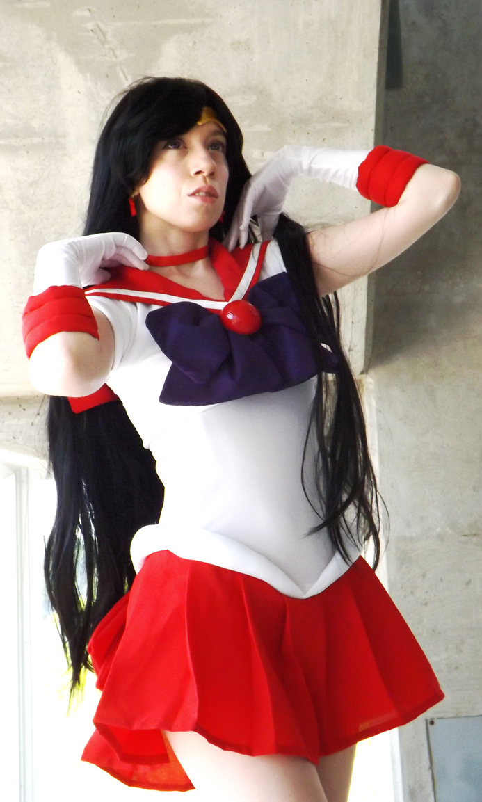 Sailor Mars by PutNameHere