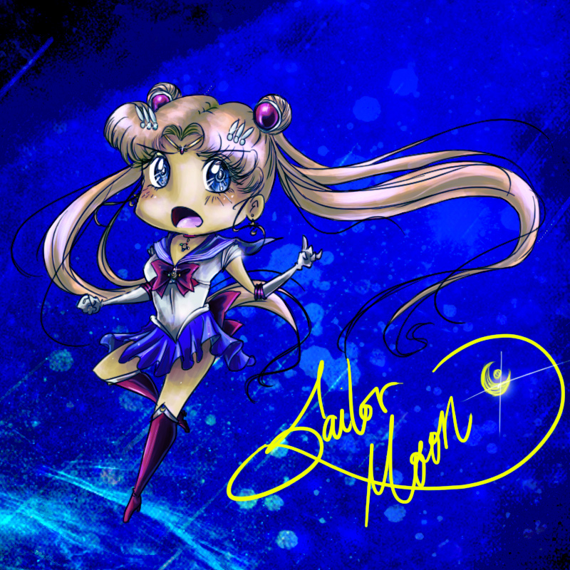 Sailor Moon Crystal Chibi by seyo-tsukino