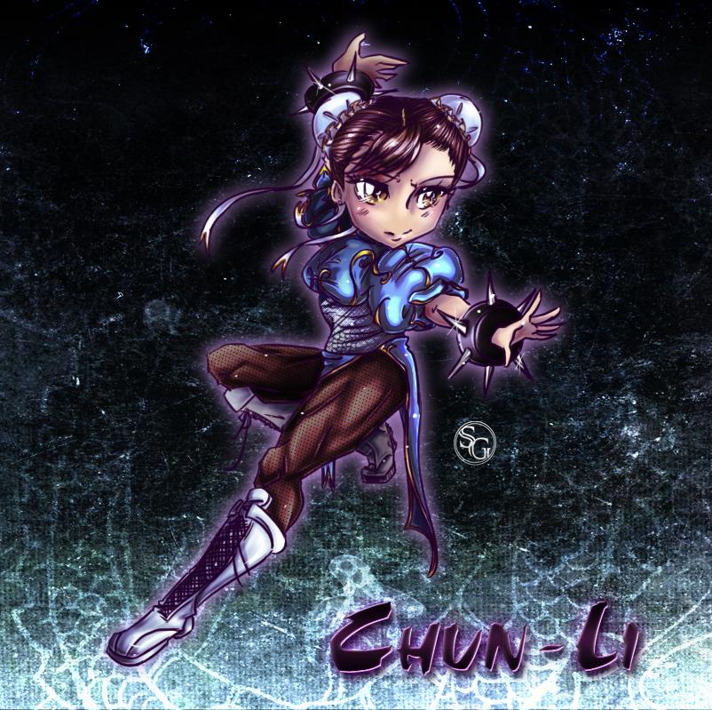 Chun-Li by seyo-tsukino