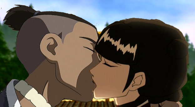 Mai X Sokka by HardcoreLime