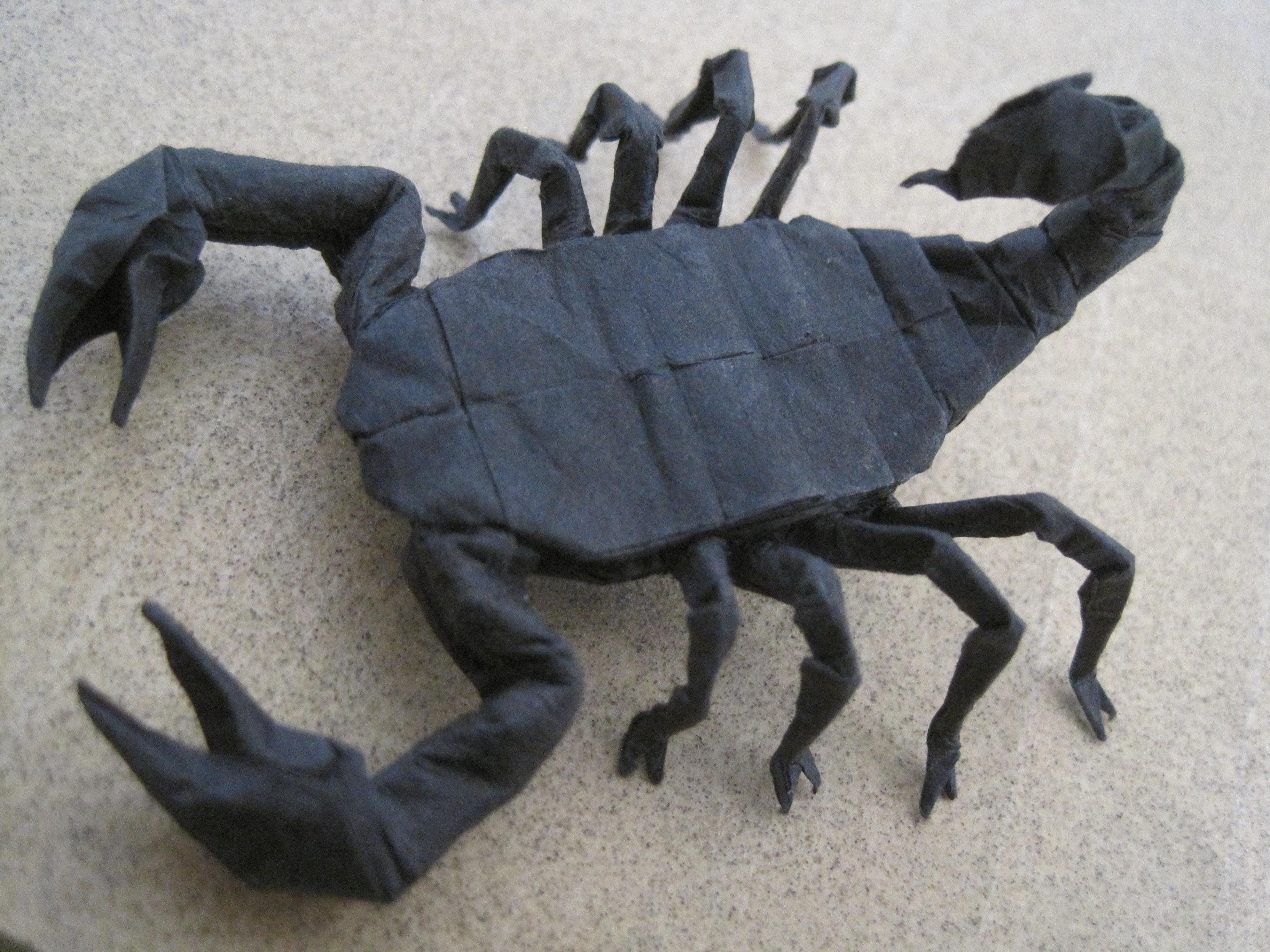 Origami Scorpion By Timsorigami On Deviantart Rh Com Diagrams Lang Robert J Diagram