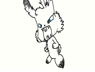 Snow Bunny by metalitakirby