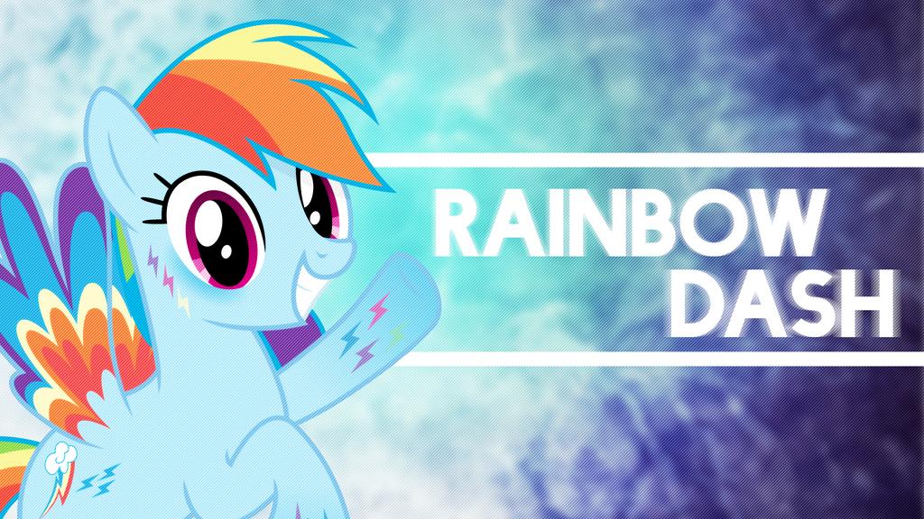 Rainbow Dash Rainbow 4K Wallpaper by DazzioN on DeviantArt