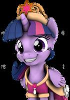 Princess Twilight Sparkle by DazzioN