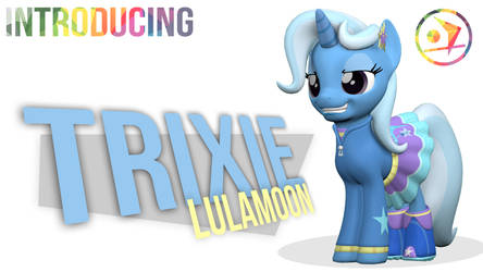 Introducing EQG Trixie Lulamoon by DazzioN