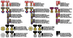 Ordres nationaux - National orders by Tenue-de-canada
