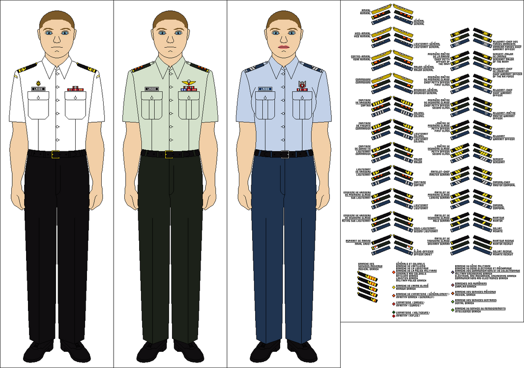 canadian forces no 3b service dress by tenue de canada on deviantart. Black Bedroom Furniture Sets. Home Design Ideas