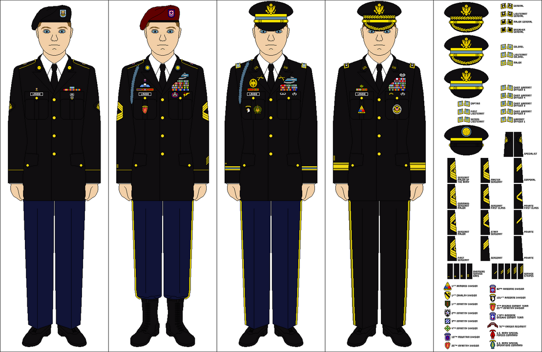 Army Class A Dress Uniform 68