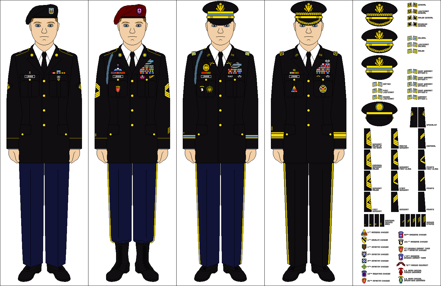 Army Enlisted Class A Uniform - Amateur Dating