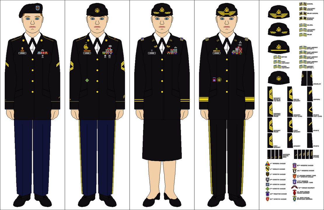 Image army dress blues