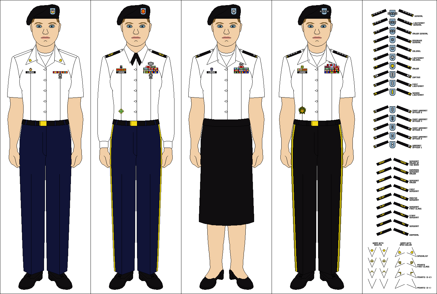 Female Class B Uniform 117