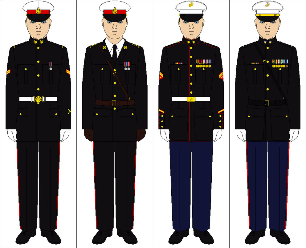 Royal Marines vs. US Marine Corps by Tenue-de-canada on ...