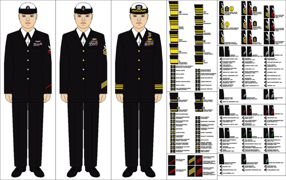 Us Navy Female Service Dress Blues By Tenue De Canada On Deviantart