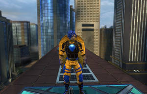 Flash Sentry in DC Universe Online by Shritistrang