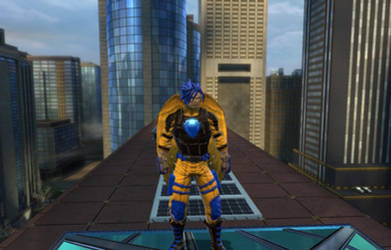 Flash Sentry in DC Universe Online