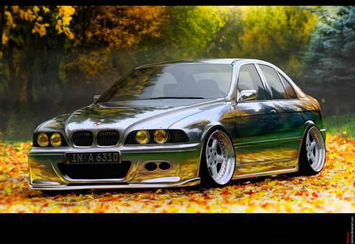 BMW 5 brushed