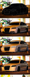 Audi A6 Process by Ayorius