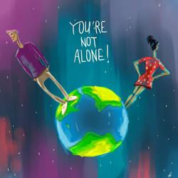 U're not alone by Ayorius