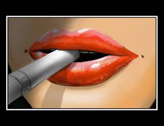 Lips by Ayorius
