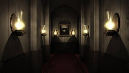 Corridor by GlassGuise