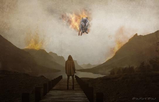 Burning Wolf