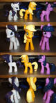 The finished ponies