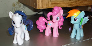 Three Finished Ponies