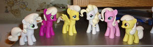 A few more WIP ponies...