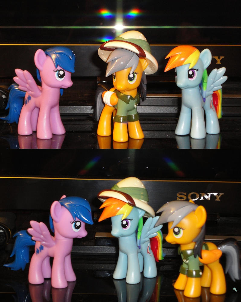 Daring Do's Elite Adventure Team by OtakuSquirrel