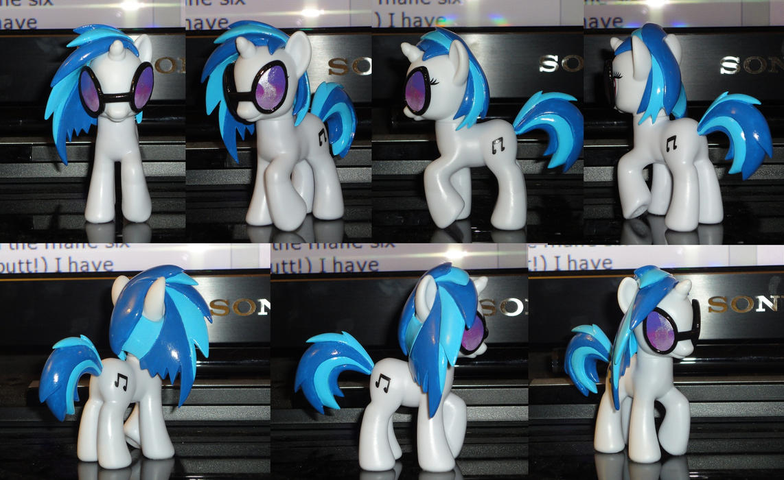 Finished Vinyl Scratch by OtakuSquirrel