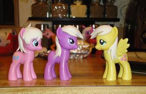 New Pony Sculpts WIP by OtakuSquirrel