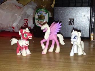 BronyDoc Ponies Finished Sculpts by OtakuSquirrel