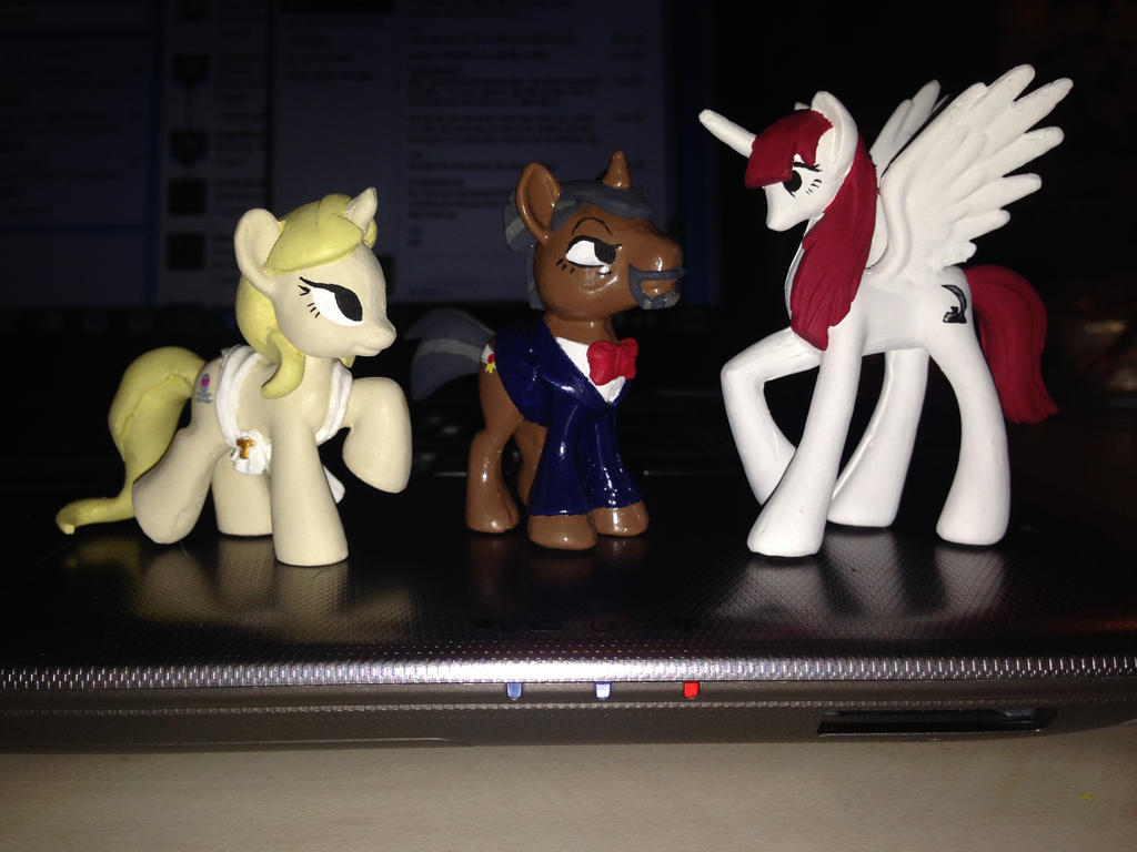 BronyDoc Ponies- Finished Set by OtakuSquirrel