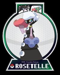 Rosetelle by DayCarePokemon