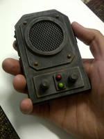 Steam punk communicator by Waileem