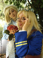 Nyo!SuFin cosplay by ChibiMisa94