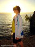 Haruka Nanase- cosplay by ChibiMisa94