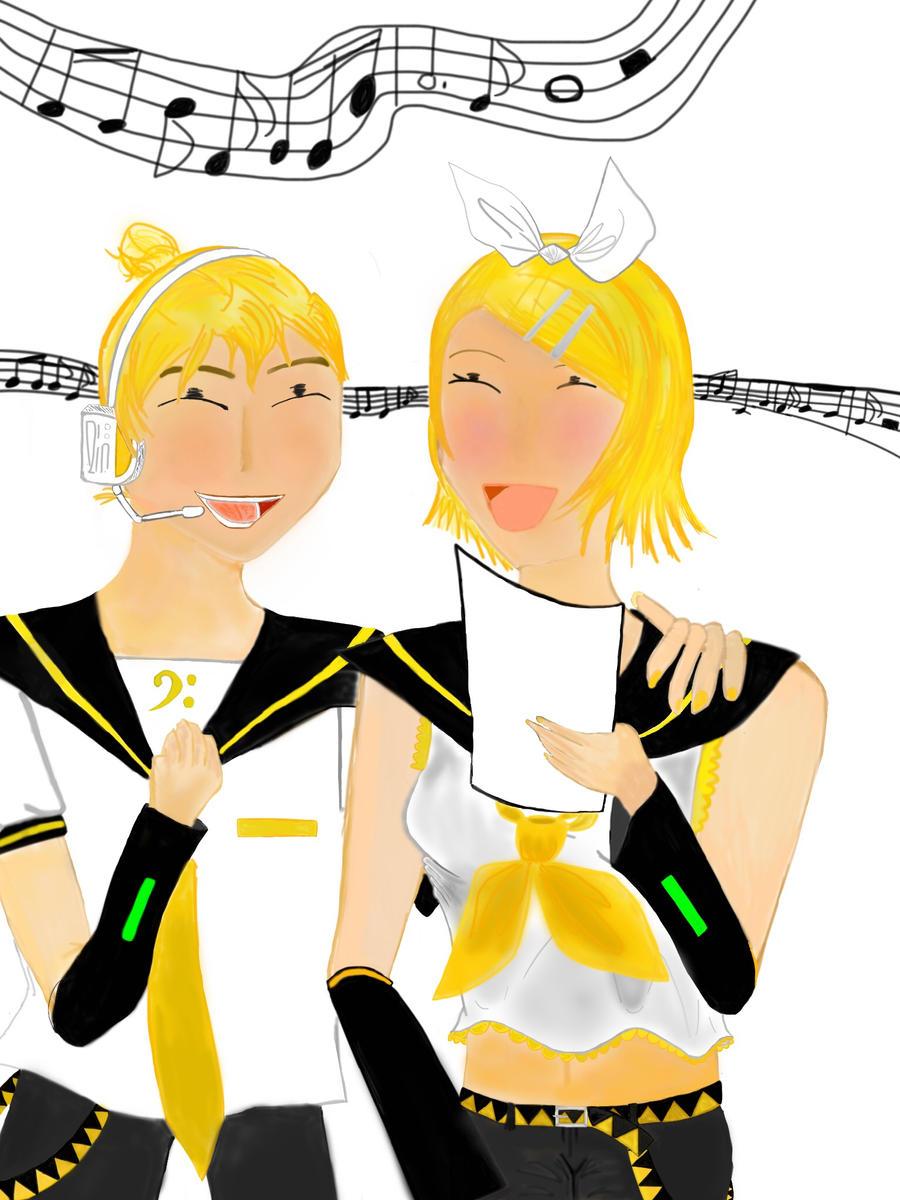 Singing Kagamines