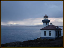 Lighthouse by Versilaryan